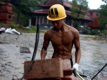 Shi Shen Wei en la obra