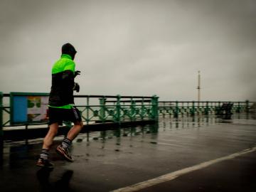La meteo adversa, uno de los enemigos del running
