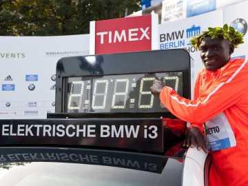 Kimetto ostenta el récord actual en maratón