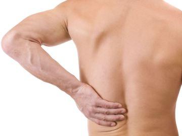 Dolor de espalda en las lumbares