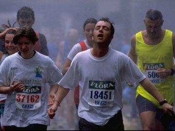 Un running en carrera