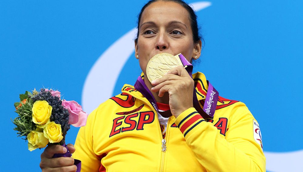 Teresa Perales, oro en Londres 2012