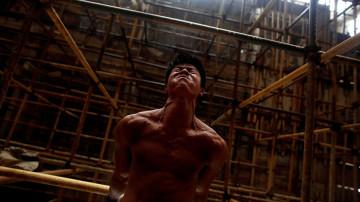 Shi Shen Wei durante su entrenamiento
