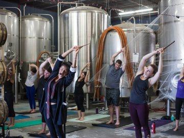 Practicando Yoga a lo Harry Potter