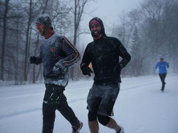 Correr en invierno también tiene sus ventajas