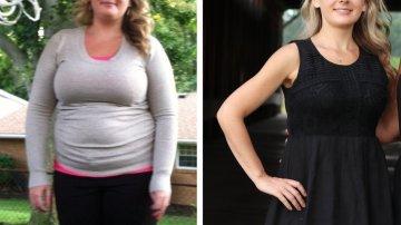 Becca perdió 45 kilos