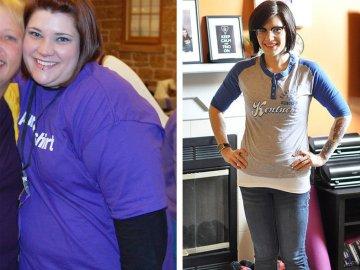 Amanda perdió 45 kilos