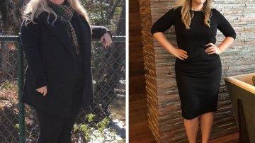 Ella también perdió 45 kilos