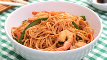 Fideos Fritos Chinos 3 Delicias |Chow Mein | Comida China
