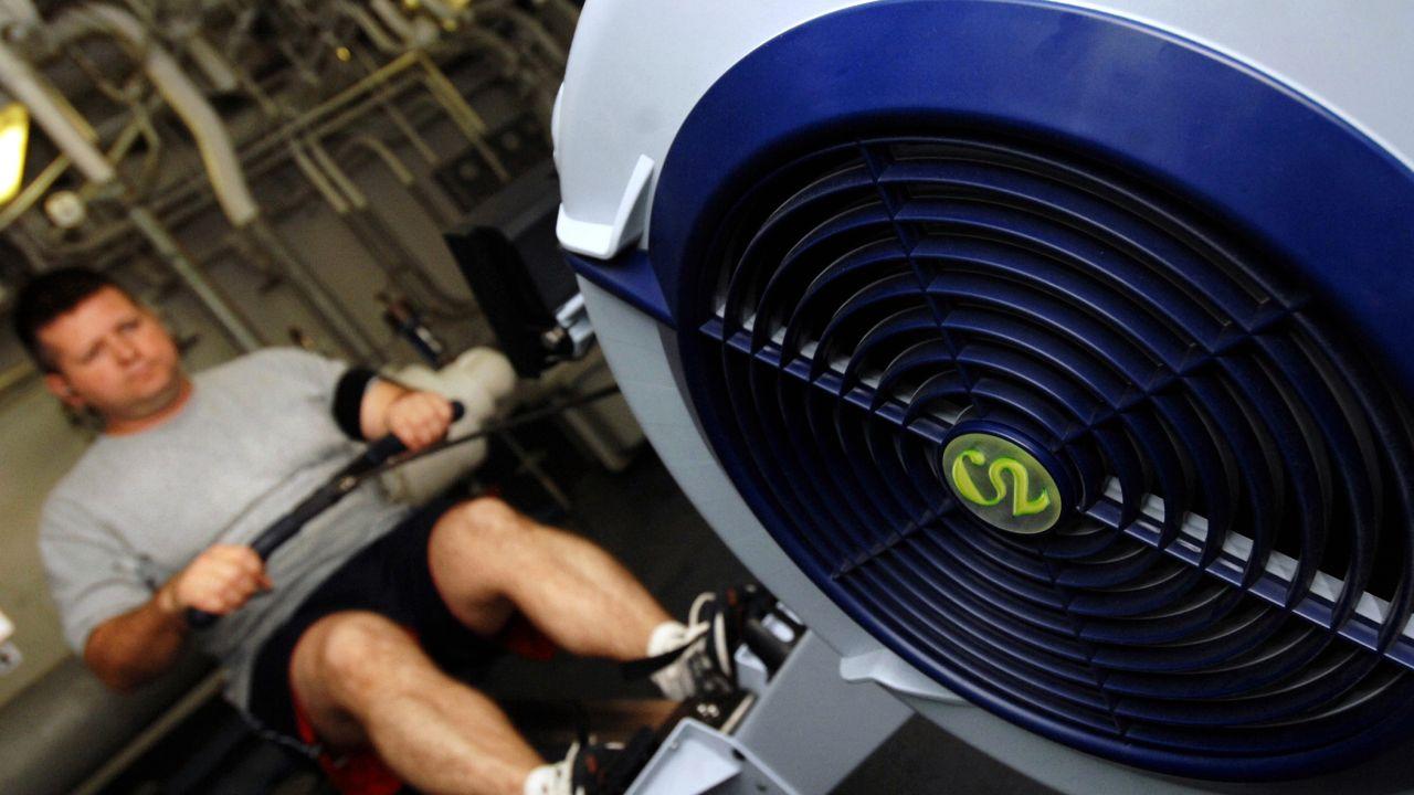 musculos que se trabajan en el remo