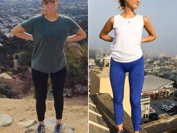 Elizabeth Biersch antes y después
