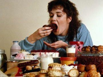 Comer compulsivamente no es nada bueno