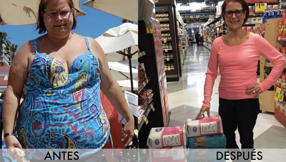 Pam antes y Pam después