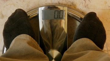 Una báscula de peso