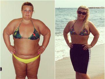 Miss Carli Jay, la instagramer que logró adelgazar 63 kilos