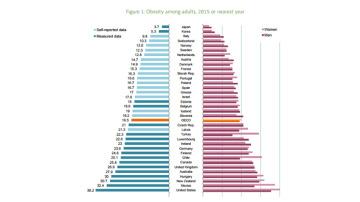 Pirámide de obesidad mundial