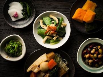 Fotografía de algunos de los platos típicos japoneses
