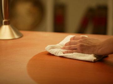 Limpiar el polvo para adelgazar