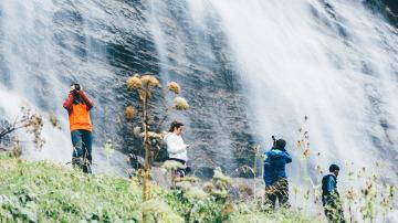 Increíbles cascadas