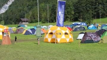 Campamento del Festival