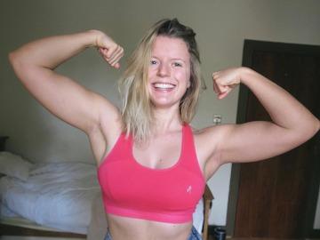 La fitgirl irlandesa Seren Pollard