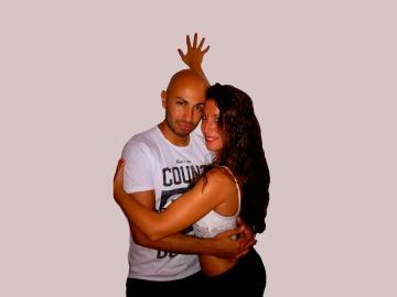 Kizomba en pareja: Sergio y Noe