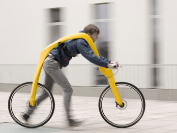 Concepto de bicicleta