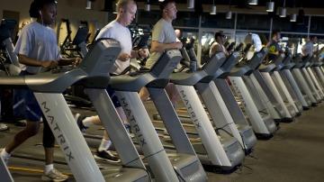 Runners en una máquina de correr