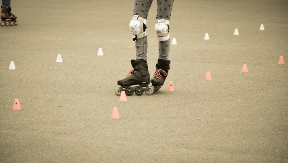 El patinaje es una de las actividades que quema calorías