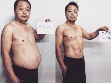 El padre de Jess antes y después