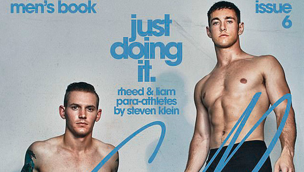 Atletas paralímpicos portadas de revista de moda