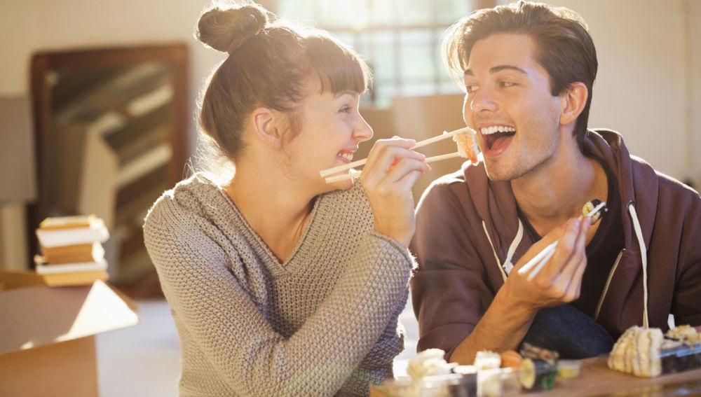 Vivir en pareja engorda