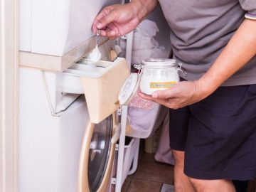 Bicarbonato en la lavadora