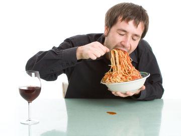 Comer rápido no es nada bueno