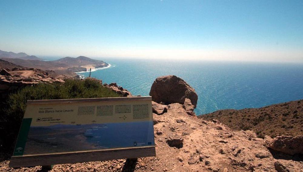 Vistas desde el Cabo de Gata