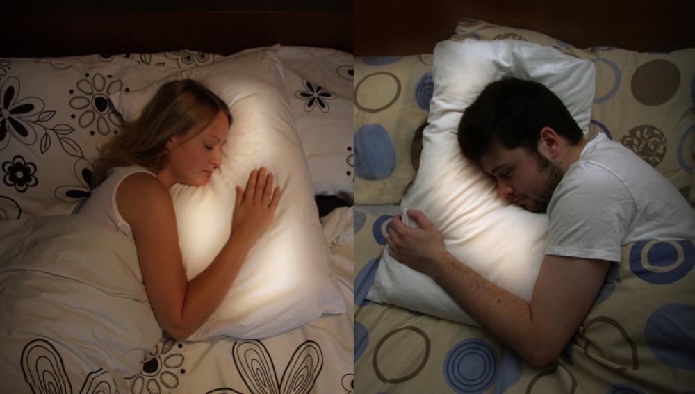 Una almohada de latidos para unir a los tortolitos a distancia