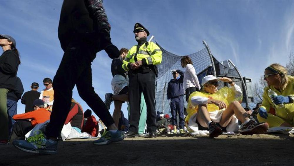 Controles policiales en el perímetro