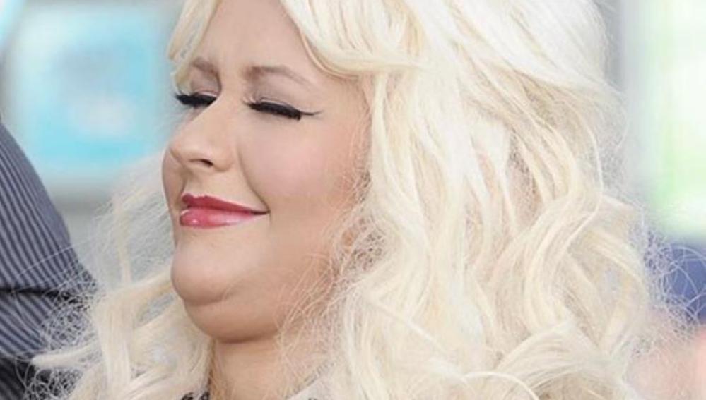 A Christina Aguilera también le sale