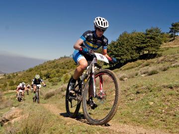 Mountain bike en Sierra Nevada