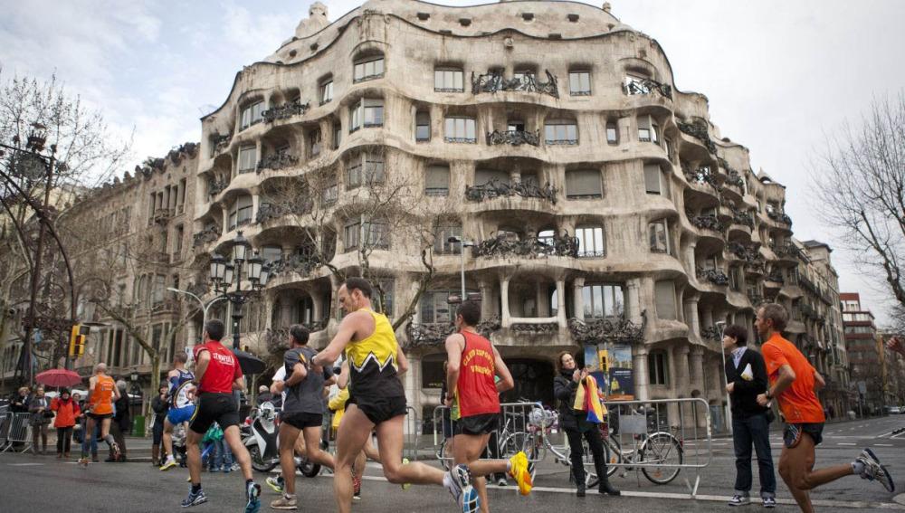Runners por Barcelona