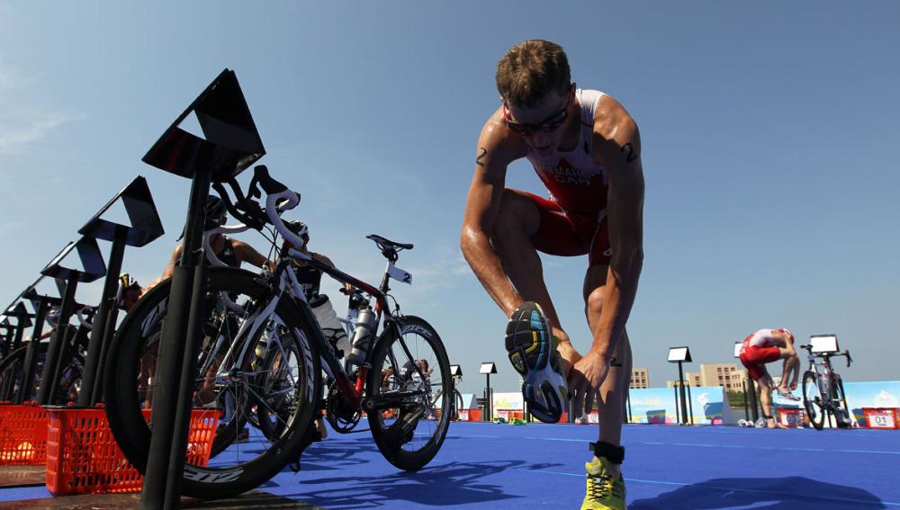 Transiciones triatlón
