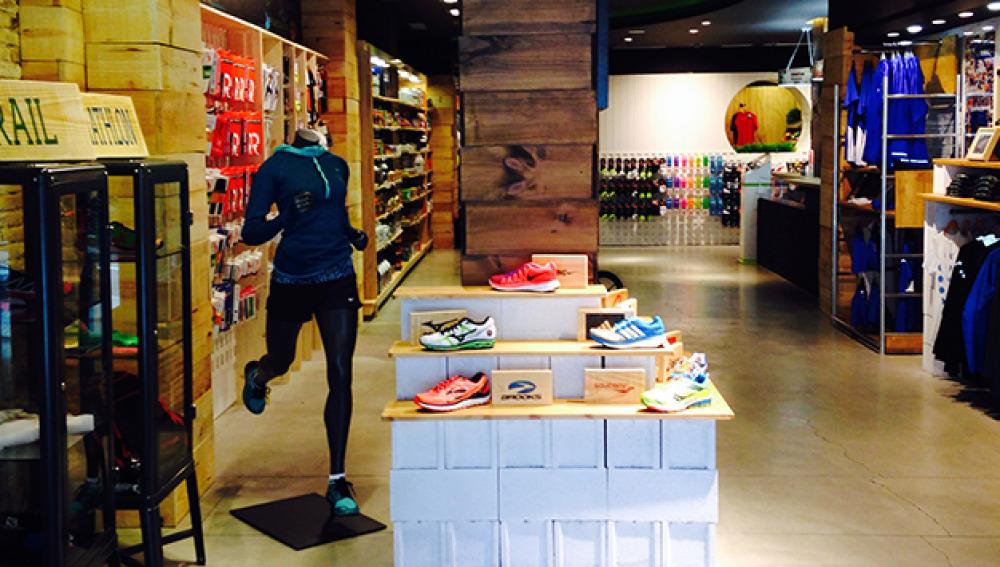 Un establecimiento ultraespecializado en running