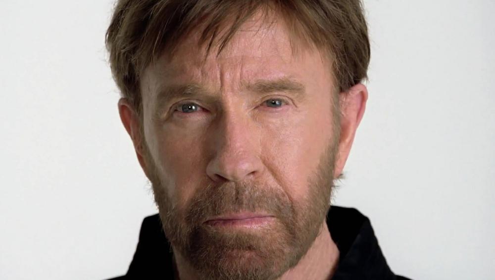 El actor Chuck Norris