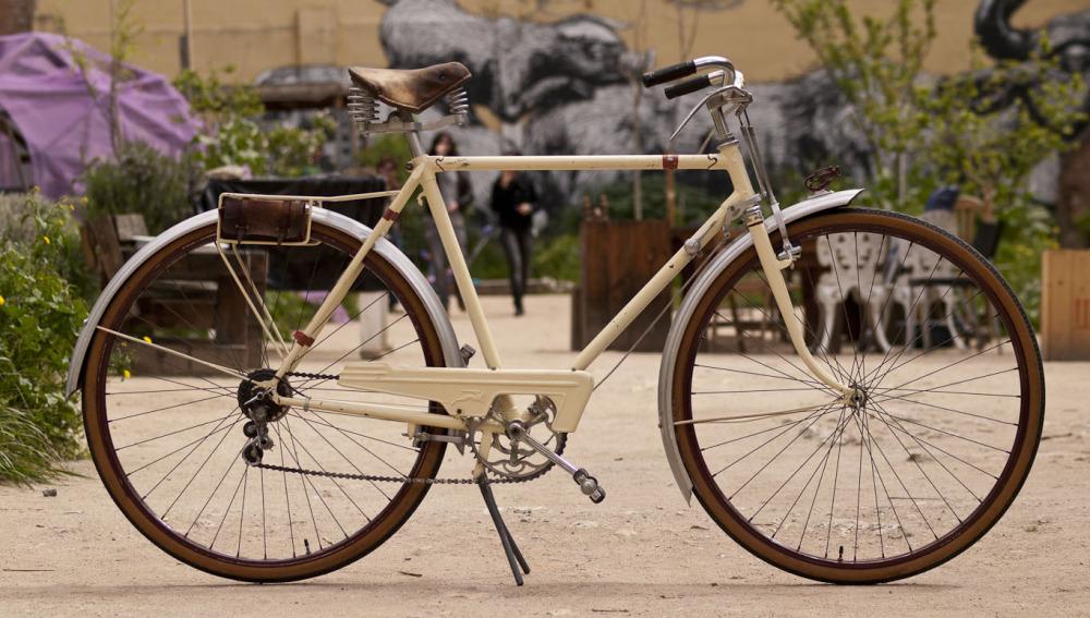 Bicicleta en un evento