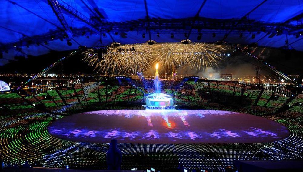Estadio de atletismo en Doha