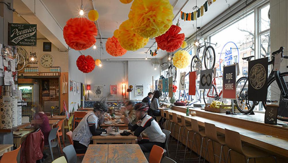 Cycling-café