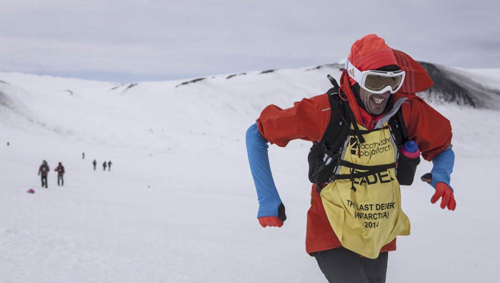 Chema Martínez por la Antártida