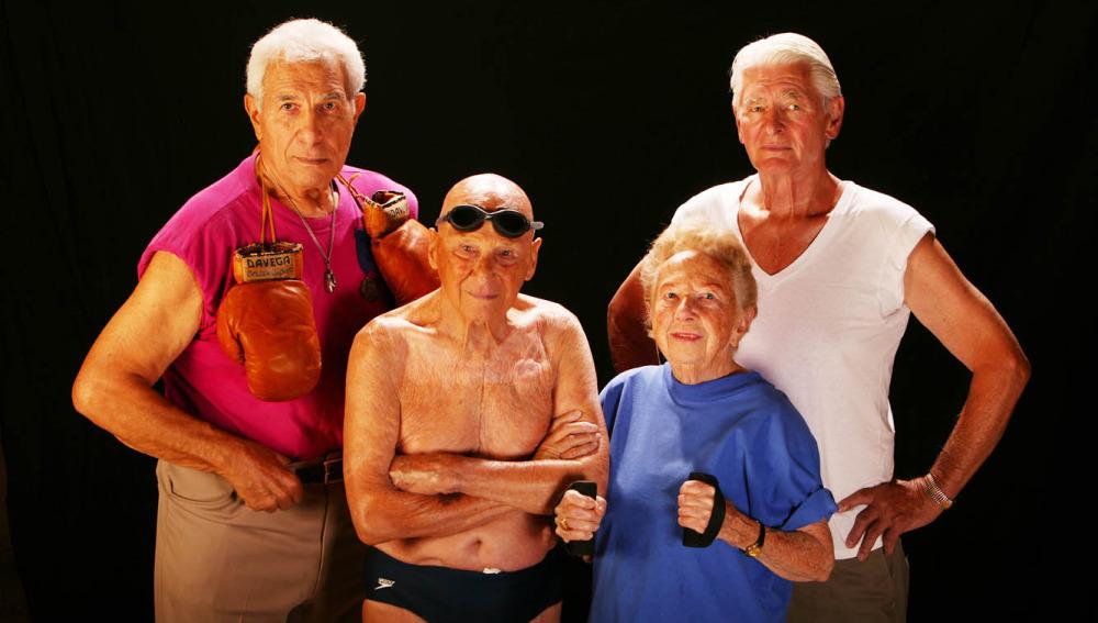 Los abuelos son los nuevos reyes del gimnasio