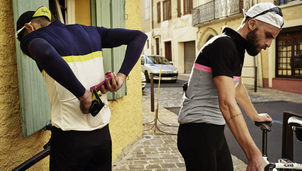 Un ciclista a la moda