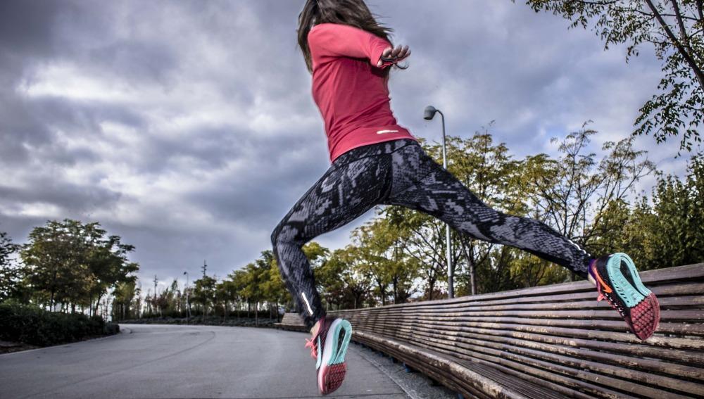 Las Guerreras Running siempre llevan una prenda rosa